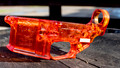 Competition Orange Flame Polished Clear