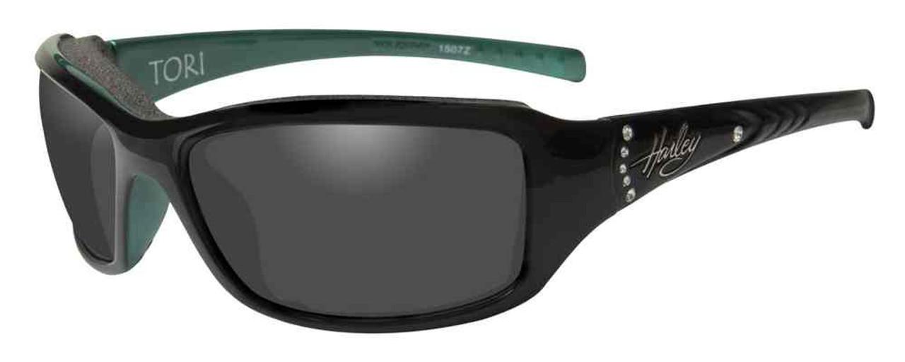 Harley-Davidson Women/'s Wiley X Catwalk Smoke Grey Lens Sunglasses HACTW02