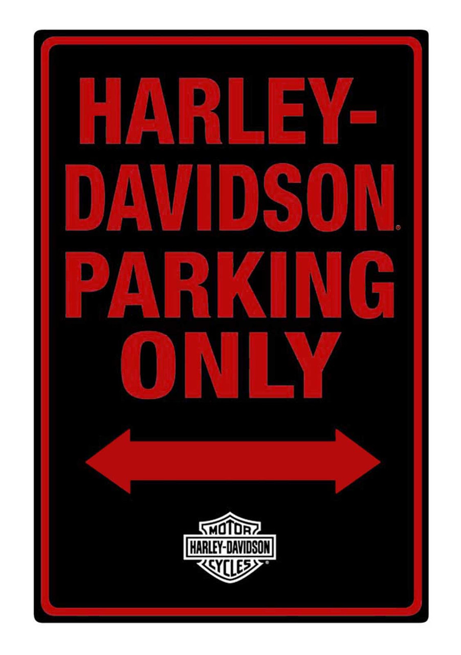 """Genuine Ford Parts 12/"""" x 12/"""" Embossed Metal Parking Sign"""