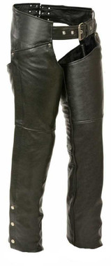 Leather King Women's Chaps w/ Hip Pockets SH1173 - Wisconsin Harley-Davidson