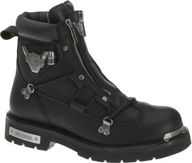 Harley-Davidson Men's Brake Light Black 6.25-Inch Motorcycle Boots D91680 - Wisconsin Harley-Davidson