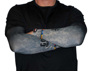 Missing Link SPF 50 Skin Thank A Vet ArmPro Compression Sleeves - APTV - Wisconsin Harley-Davidson