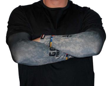 Missing Link SPF 50 Skin Thank A Vet ArmPro Compression Sleeves - APTV - Wisconsin Harley-Davidson