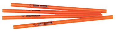 Harley-Davidson Custom H-D Script Straws, Set Of 25, Orange HDL-18543 - Wisconsin Harley-Davidson