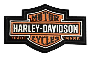 Harley-Davidson Long bar & Shield Medium Patch, 7-1/4'' W x 4-3/8'' H EMB312383 - Wisconsin Harley-Davidson