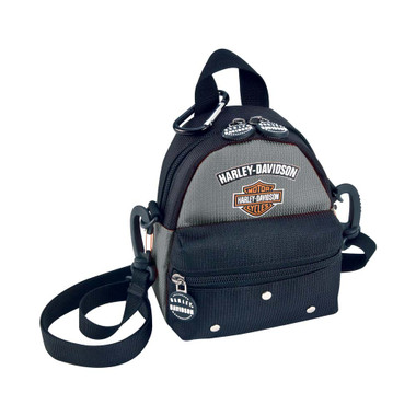 Harley-Davidson Mini Me Backpack, Silver 99668-SB - Wisconsin Harley-Davidson