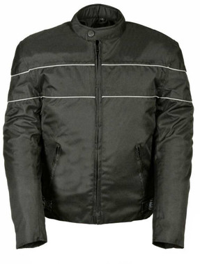 Nex Gen Men's Nylon Motorcycle Jacket w/ Reflective Piping SH212102 - Wisconsin Harley-Davidson