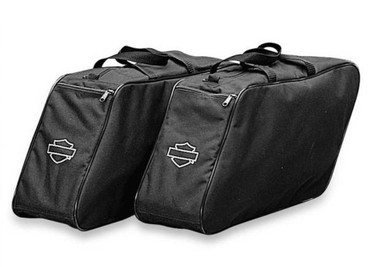 Harley-Davidson B&S Zippered Travel Pack For Hard Saddlebags, Set of 2 91885-97A - Wisconsin Harley-Davidson