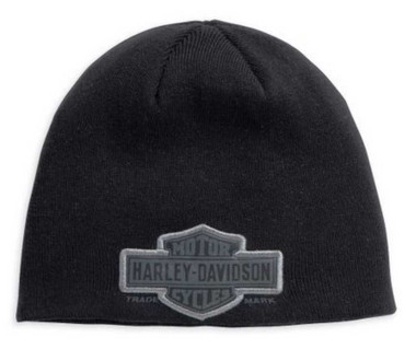 Harley-Davidson Men's Trademark Bar & Shield Knit Hat 99511-11VM - Wisconsin Harley-Davidson