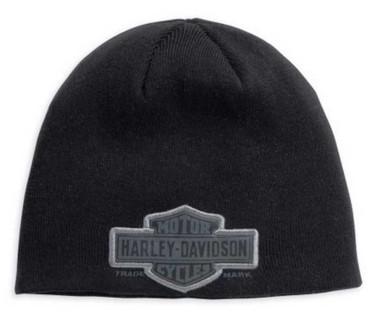 Harley-Davidson Men's Trademark Bar & Shield Knit Hat 99511-11VM - Wisconsin Harley-Davidson