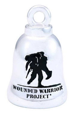 Harley-Davidson Motorcycle Ride Bell, Wounded Warrior Project, Silver HRW001 - Wisconsin Harley-Davidson