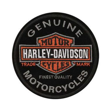 SM 4 x 2.25 in EM043662 Harley-Davidson Embroidered H-D Skull Emblem Patch