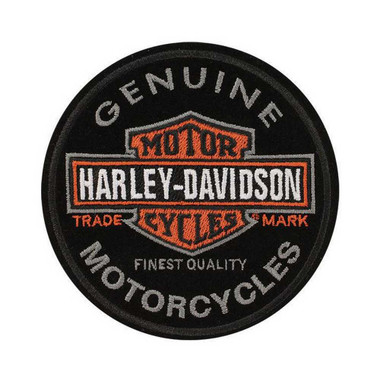 Harley-Davidson Emblem, Long Bar & Shield, Small Size Patch EM312642 - Wisconsin Harley-Davidson