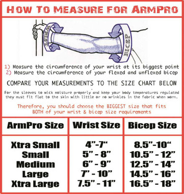 Missing Link SPF 50 Solid Red ArmPro Compression Sleeves - APRD - Wisconsin Harley-Davidson