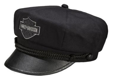 Harley-Davidson Men's Bar & Shield Logo Biker Hat Cap, Black. 99405-15VM - Wisconsin Harley-Davidson