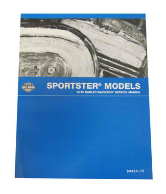 Harley-Davidson 2015 Sportster Models Motorcycle Service Manual 99484-15 - Wisconsin Harley-Davidson