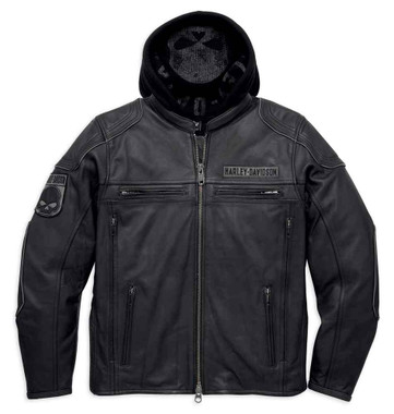 Harley-Davidson Men's Aurora Willie G Skull 3-in-1 Jacket, Black. 98097-16VM - Wisconsin Harley-Davidson