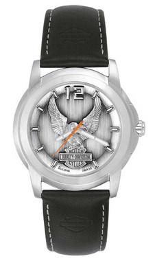Harley-Davidson Men's Bulova Eagle Wrist Watch 76A12 - Wisconsin Harley-Davidson