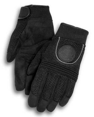Harley-Davidson Men's Skull Full-Finger Mesh Gloves 98254-10VM - Wisconsin Harley-Davidson
