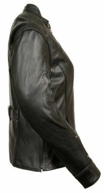 Leather King Women's Triple Stitch Detailed Jacket SH1924 - Wisconsin Harley-Davidson