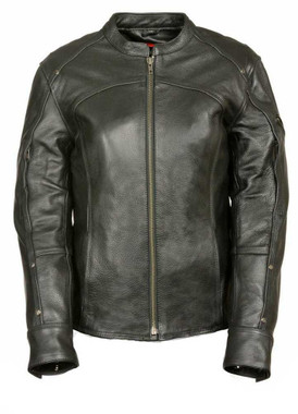 Leather King Women's Triple Stitch Detailed Jacket SH1924 - Wisconsin Harley-Davidson