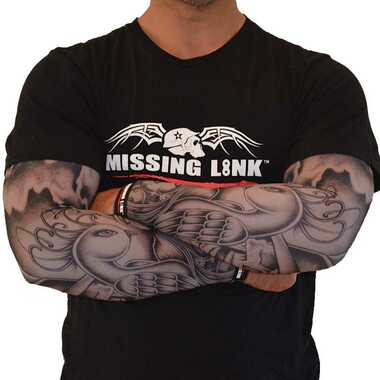 Missing Link SPF 50 Birds of a Feather ArmPro Tattoo Compression Sleeves - APBF - Wisconsin Harley-Davidson