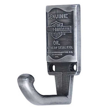 Harley-Davidson Genuine Oil Can Hardware Hook HDL-10102 - Wisconsin Harley-Davidson