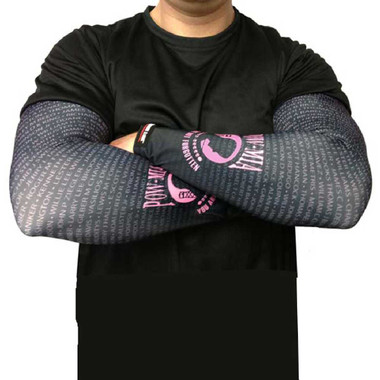 Missing Link SPF 50 Pink POW/MIA ArmPro Compression Sleeves - APPOWP - Wisconsin Harley-Davidson