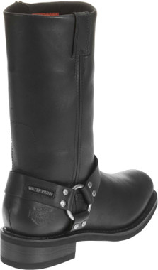 Harley-Davidson Men's Hustin 11-Inch Waterproof Harness Motorycle Boots D95353 - Wisconsin Harley-Davidson