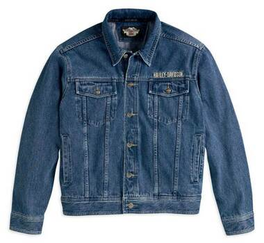 Harley-Davidson Men's Bar & Shield Denim Jacket 99040-08VM - Wisconsin Harley-Davidson