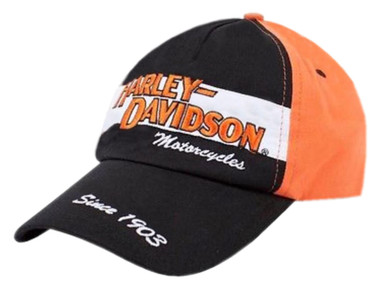 Harley-Davidson Little Boys' Baseball Cap, Toddler Prestige Twill Hat 0270282 - Wisconsin Harley-Davidson