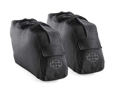 Harley-Davidson Road King Travel-Paks For Leather Saddlebags Black 91887-98 - Wisconsin Harley-Davidson