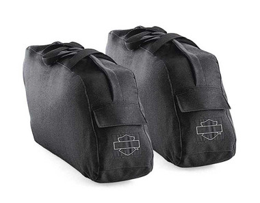 Harley-Davidson Road King Travel-Paks For Leather Saddlebags Black 91887-98 - Wisconsin Harley-Davidson