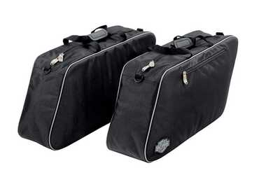 Harley-Davidson Zippered Premium Travel Pack For Hard Saddlebags, Set 2 93300070 - Wisconsin Harley-Davidson
