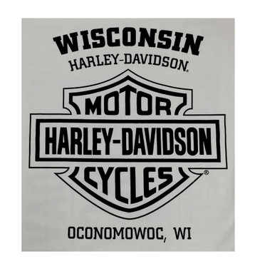 Harley-Davidson Men's Sweatshirt, Heritage H-D, Gray Crew Neck Pullover 30296642 - Wisconsin Harley-Davidson