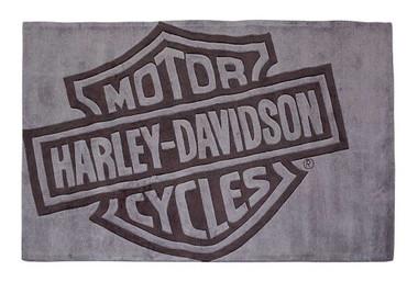 Harley-Davidson Bar & Shield Small Area Rug, Handmade Tufted Rug HDL-19503 - Wisconsin Harley-Davidson