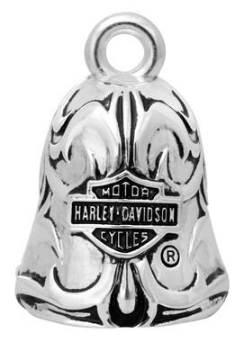 Harley-Davidson Vintage Rebel Filigree Bar & Shield Ride Bell HRB043 - Wisconsin Harley-Davidson