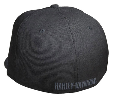 Harley-Davidson Men's Tonal Bar & Shield Logo 59FIFTY Baseball Cap 99514-12VM - Wisconsin Harley-Davidson