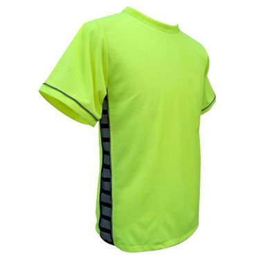 Missing Link Men's Evolution Moisture Wicking Tee Hi Viz Green POG - Wisconsin Harley-Davidson