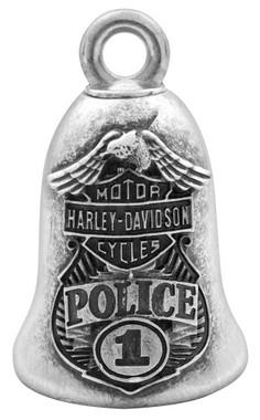 Harley-Davidson Bar & Shield Eagle Police Ride Bell HRB063 - Wisconsin Harley-Davidson