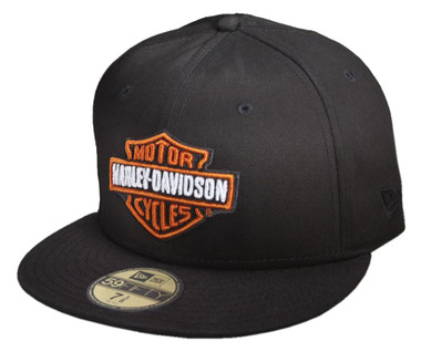 Harley-Davidson Men's Bar & Shield Logo 59FIFTY Baseball Cap 99515-12VM - Wisconsin Harley-Davidson