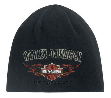 Harley-Davidson Men's Reversible Flames Kit Hat 99509-12VM - Wisconsin Harley-Davidson