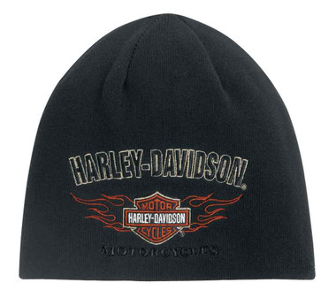 Harley-Davidson Men's Reversible Flames Kit Hat 99509-12VM - Wisconsin Harley-Davidson