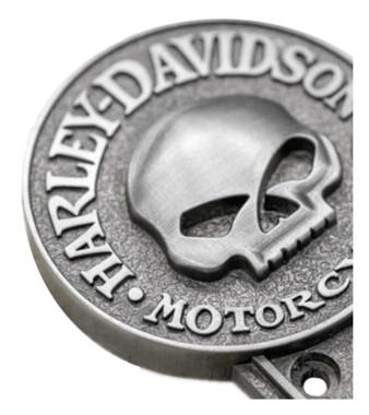 Harley-Davidson Willie G Skull Coat Hook, Antique Pewter Finish HDL-10132 - Wisconsin Harley-Davidson