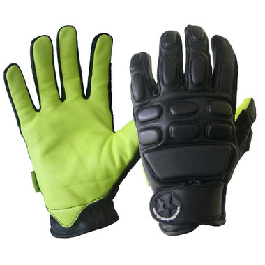 Missing Link Tactical Action Gloves with Kevlar (Black/Hi-Viz Green) TAGG - Wisconsin Harley-Davidson