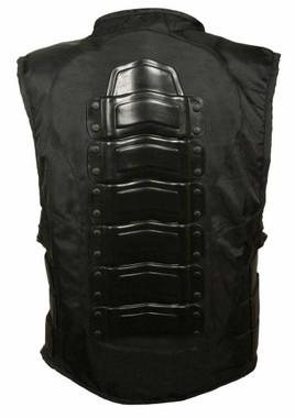Leather King Men's Swat Style Enforcement Vest w/ Removable Back Armor SH1458 - Wisconsin Harley-Davidson