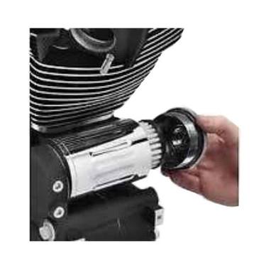 Harley-Davidson Definitives Filtration System, Black Wrinkle Finish 63801-07 - Wisconsin Harley-Davidson