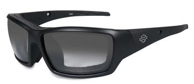 Harley-Davidson Men's Shadow-Alt Fit Light Adjust Matte Black Sunglasses HFSHA05 - Wisconsin Harley-Davidson