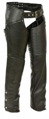Milwaukee Leather Women's Chaps w/ Hip Pockets ML1173 - Wisconsin Harley-Davidson