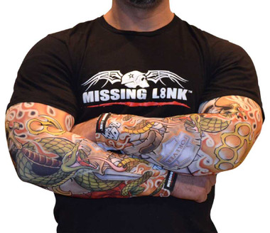 Missing Link SPF 50 Forever Ink'd ArmPro Tattoo Compression Sleeves - APFI - Wisconsin Harley-Davidson
